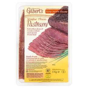 Gilbert's Wafer Thin Pastrami