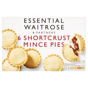 Essential 6 Shortcrust Mince Pies