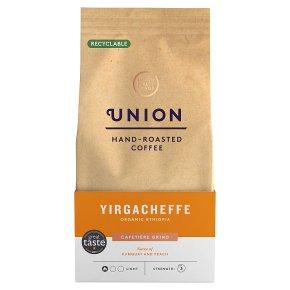 Union Coffee Yirgacheffe Ethiopia Cafetière Grind