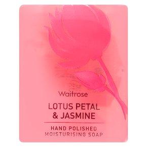 Waitrose Glycerine Lotus Petal Soap