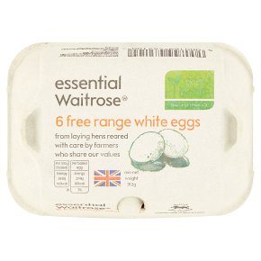 Essential Free Range White Eggs