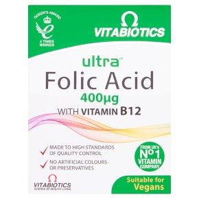 Ultra Folic Acid with Vitamin B112