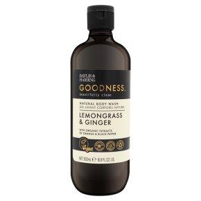Goodness Lemongrass Ginger Body Wash