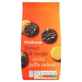 Waitrose mini jaffa cakes