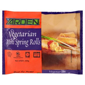Yarden Vegetarian Mini Spring Rolls