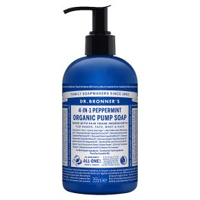 Dr. Bronner's Peppermint Pump Soap