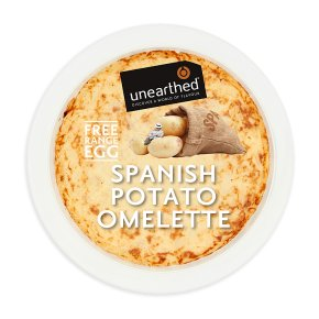 Unearthed Spanish Potato Omelette