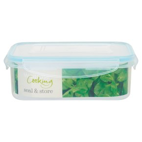 Waitrose Seal & Store 1 litre rectangle container