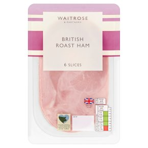 Waitrose British Ham 6 Slices