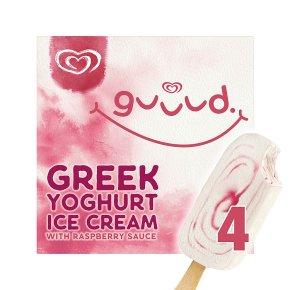Guuud Raspberry Ice Cream