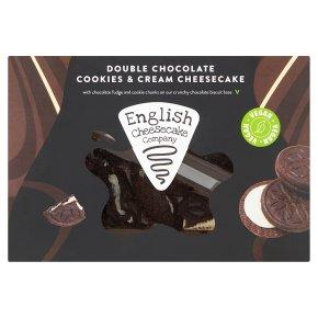English Cheesecake Company Cookies & Cream Vegan Slices