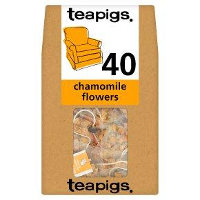 Teapigs Chamomile Flowers 40 Tea Temples