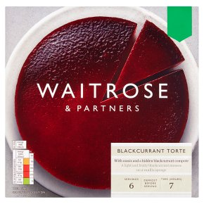 Waitrose Blackcurrant Torte