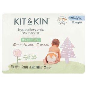 Kit & Kin Nappies Size 4