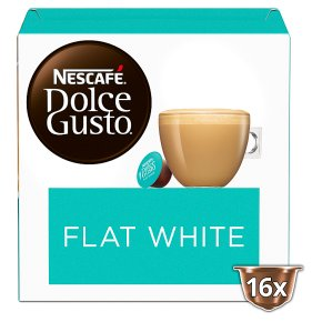 Nescafe Dolce Gusto Flat White Coffee Pods 16s