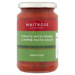 Waitrose Tomato with Fennel & Pepper Pasta Sauce
