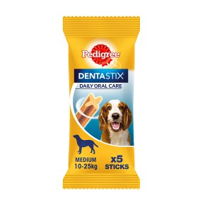 Pedigree Dentastix 5 Sticks Medium 10-25kg Dog