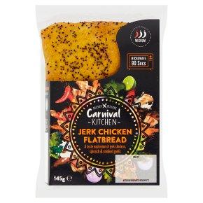 Carnival Kitchen Jerk Chicken Flatbread