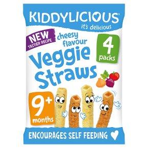 Kiddylicious Cheesy Veggie Straws