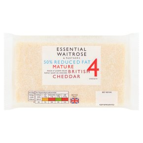 Essential 50% Reduced Fat Mature Cheddar Strength 4