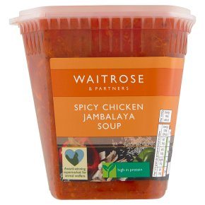Waitrose Chicken Jambalaya Soup