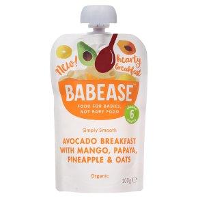 Babease Avocado Mango Papaya & Oats