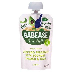 Babease Avocado Yoghurt Spinach Oats