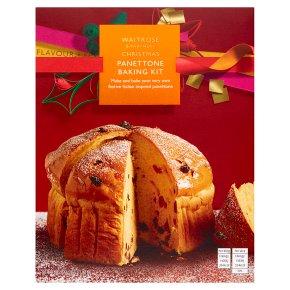 Waitrose Christmas Panettone Baking Kit
