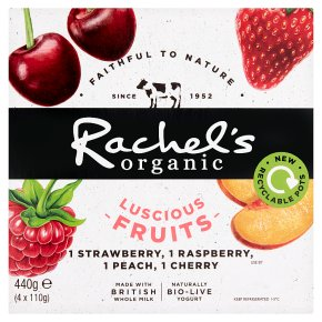 Rachel's Organic Luscious Fruits Cherry & Strawberry