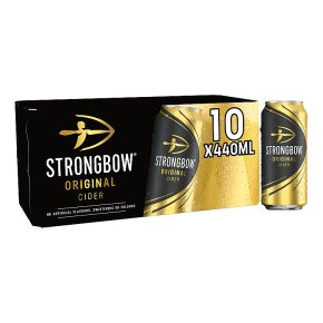 Strongbow Sparkling Cider Herefordshire