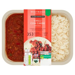 Calorie Controlled Chilli Con Carne with Rice