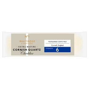 No.1 Extra Mature Cornish Quartz Cheddar Strength 6