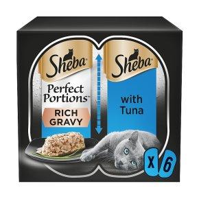 Sheba Perfect Portions Tuna in Rich Gravy