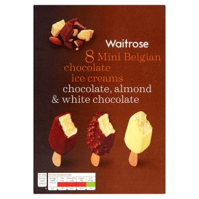 Waitrose Mini Belgian Chocolate Ice Creams