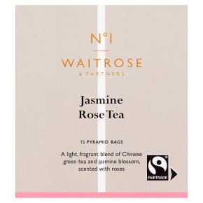 No.1 Jasmine Rose Tea 15 Pyramids Bags