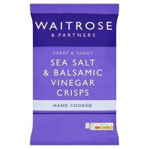 Waitrose Sea Salt & Cider Vinegar Crisps