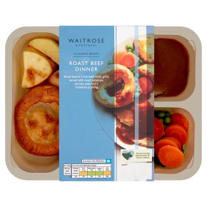 Waitrose Classic Roast Beef Dinner