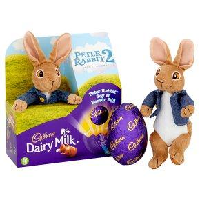 Dairy Milk Peter Rabbit Toy & Easter Egg