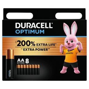 Duracell Optimum AA 8 Pack