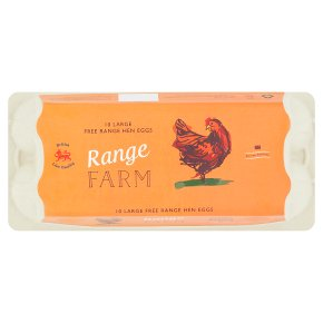 Range Farm Large Free Range Hen Eggs