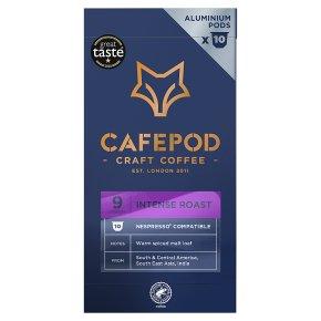 CafePod Intense Lungo 10 Coffee Pods