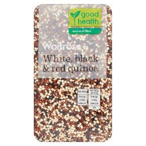 Waitrose White, Black & Red Quinoa