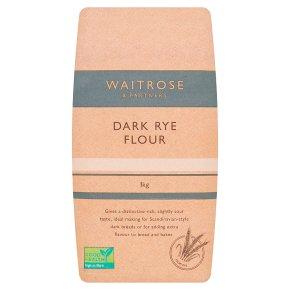 Waitrose Dark Rye Flour