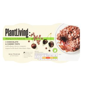 Plantlife: 2 Chocolate & Cherry Pots