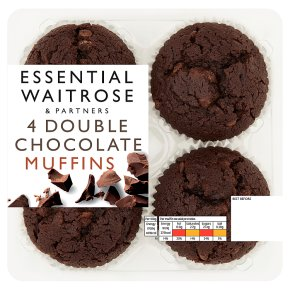 Essential 4 Double Chocolate Muffins