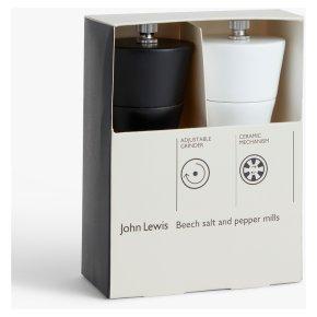John Lewis Beech Salt And Pepper Set
