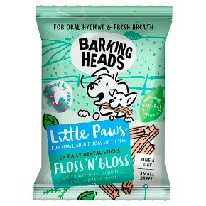 Barking Heads Floss 'N' Gloss 5 Dental Sticks