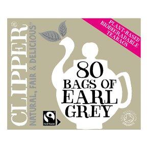 Clipper Fairtrade Earl Grey Tea 80 Tea Bags