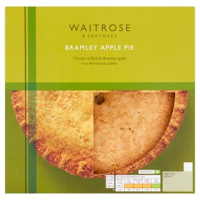 Waitrose Bramley Apple Pie