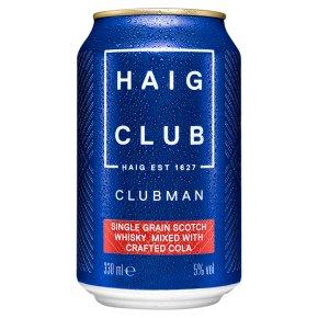 Haig Clubman & Cola